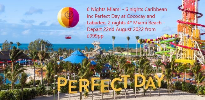 All inclusive cruises from £799pp